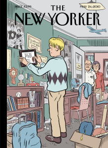 The New Yorker Magazine Cover, May 2010. Article: Your New College Graduate: A Parent's Guide