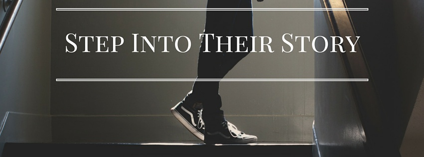 step into their story